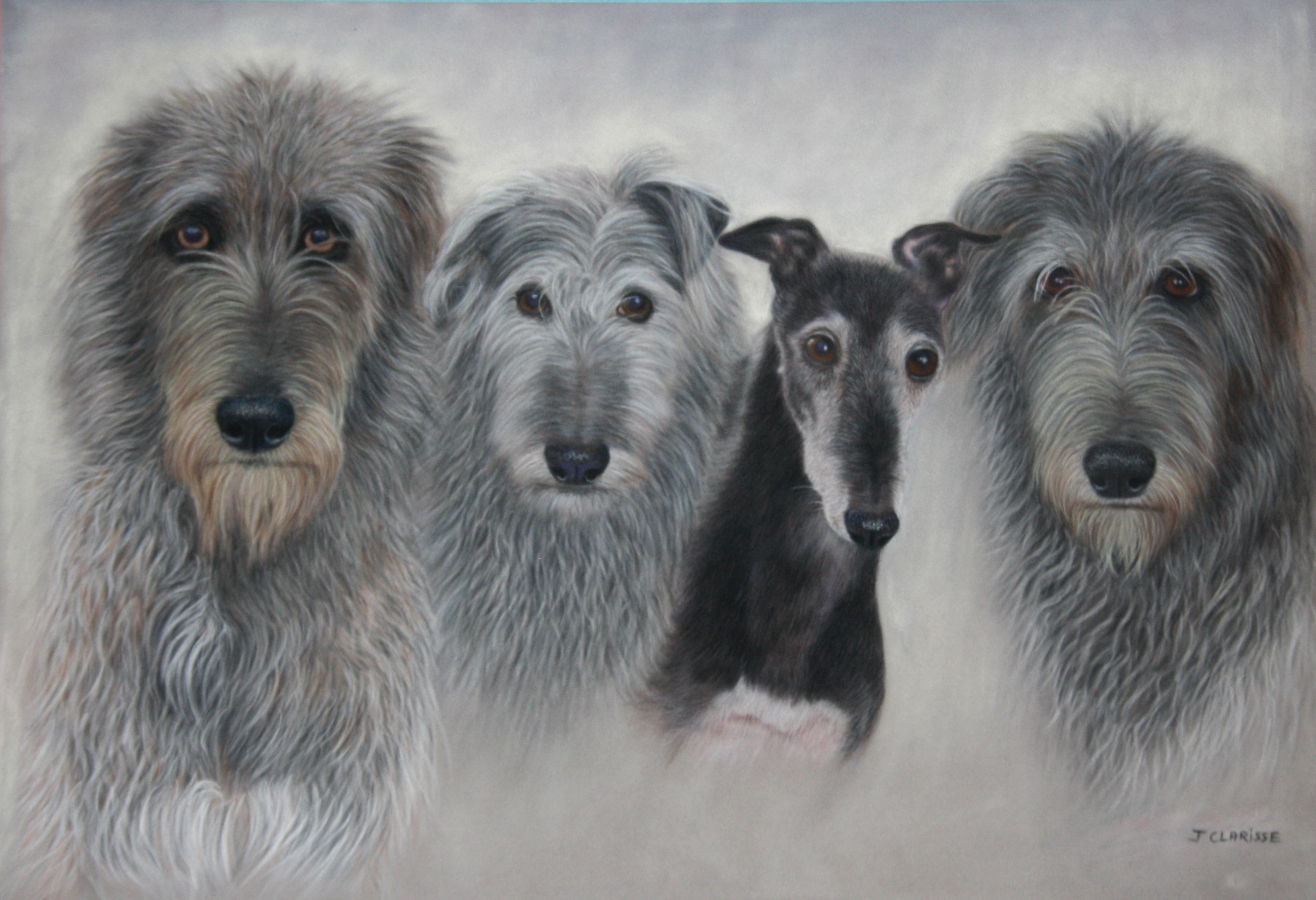 Morag, Fergus, Isla et Rannoch