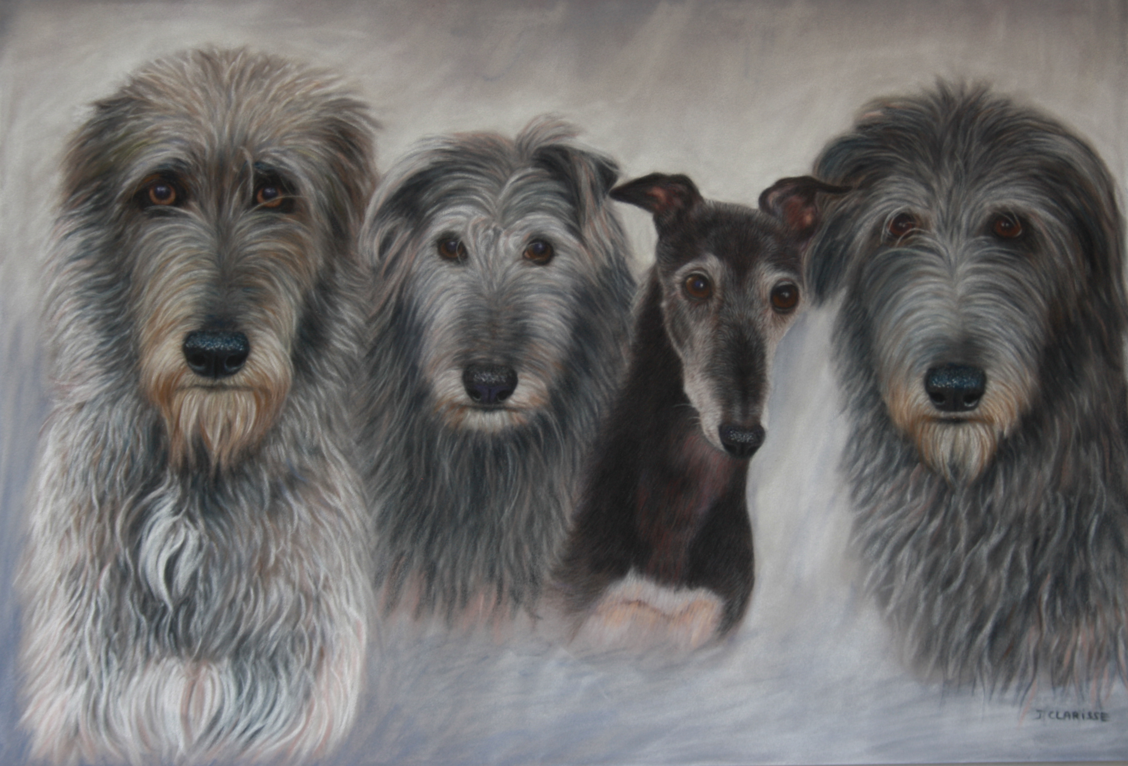 Morag, Fergus, Isla and Rannoch